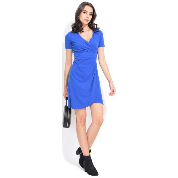 281e8a592e Fille Du Couturier Sukienka Damska Tango 38 Niebieski - Sukienki ...