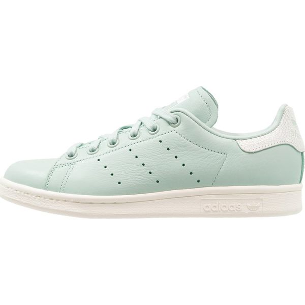 new concept d6a45 5e119 adidas Originals STAN SMITH Tenisówki i Trampki ash greenfootwear white - Zielone  trampki damskie marki Adidas Originals, z materiału. Za 399.00 zł.