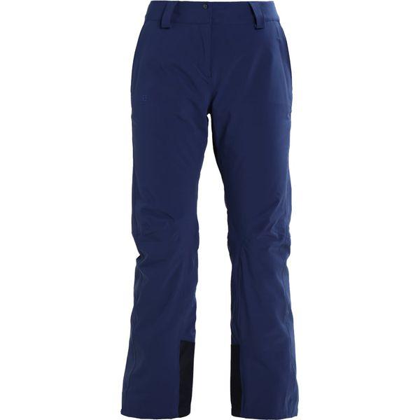 915cc99b0d7585 Salomon ICEMANIA Spodnie narciarskie medieval blue - Spodnie ...