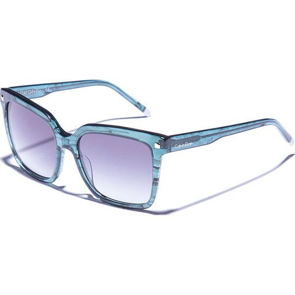 f636c1adf59a3f Okulary damskie w kolorze morsko-niebieskim - Zielone okulary ...