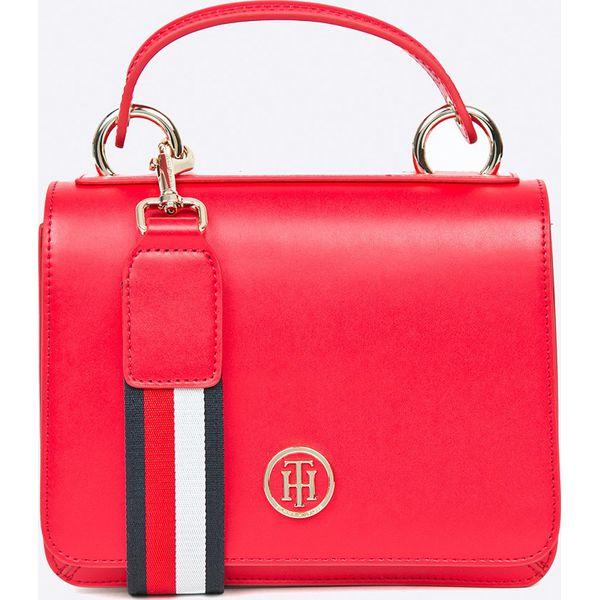 43985a2d8c9dd Tommy Hilfiger - Torebka - Czerwone torebki klasyczne damskie marki ...