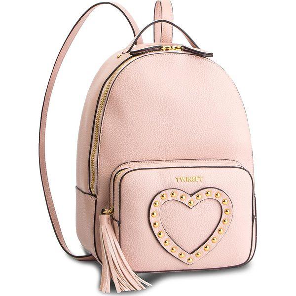 0f0c0f45a20be Plecak TWINSET - Zaino 191TO8192 Rose Sand 03706 - Plecaki marki ...