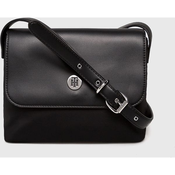 a900f7e8c8a5b Tommy Hilfiger - Torebka - Czarne torebki klasyczne damskie marki ...