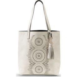 31dbdeeaf0471 Torba shopper bonprix cielisty - Brązowe shopper bag marki bonprix ...