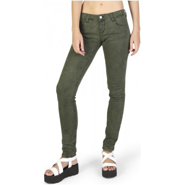 971e8f01b2b3c Wyprzedaż - spodnie damskie marki Guess - Kolekcja wiosna 2019 - Butik -  Modne ubrania