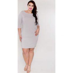 b30ef4bee9 Elegancka ołówkowa sukienka Gosia OVERSIZE PLUS SIZE wiosna lato 2018.  Sukienki damskie marki Moda Size