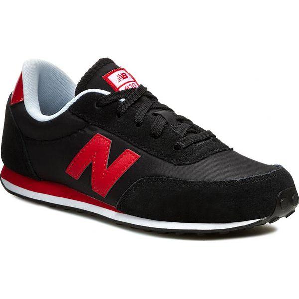 a352990f1145f Sneakersy NEW BALANCE - Classics KL410KRY Czarny Czerwony - Czarne ...