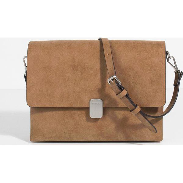 388707a08b50b Parfois - Torebka - Brązowe torebki klasyczne damskie marki Parfois ...