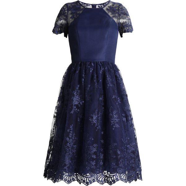 1d50044efa Chi Chi London Tall TIANNA Sukienka koktajlowa navy - Niebieskie sukienki  damskie marki Chi Chi London Tall