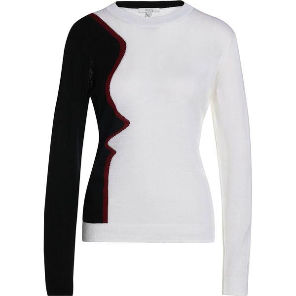 80ff5e8d3a House of Dagmar LOVE Sweter face - Białe swetry klasyczne damskie ...