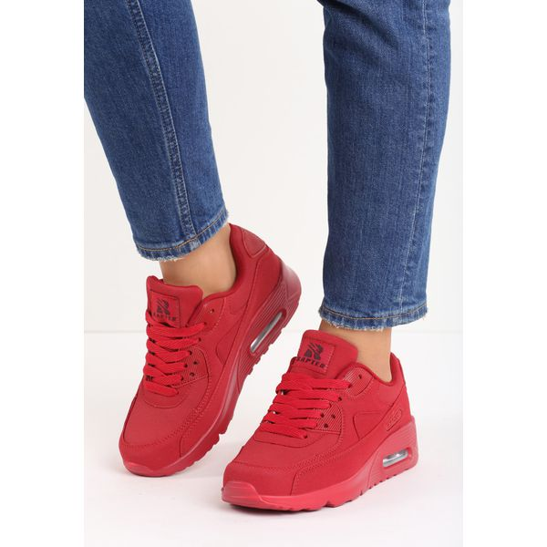 bc90a42d Czerwone Buty Sportowe Vintage Nilda - Obuwie sportowe casual ...