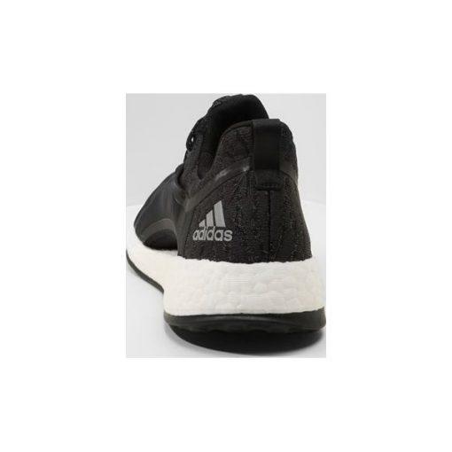 adidas Performance PUREBOOST X Obuwie do biegania treningowe carbonsilver metalliccore black