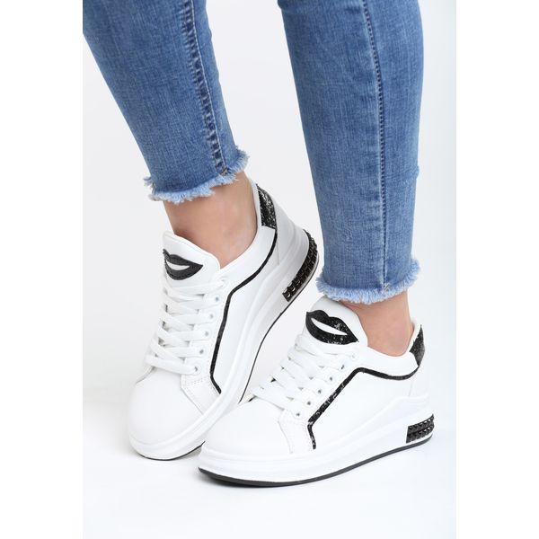 biało czarne buty sportowe damskie