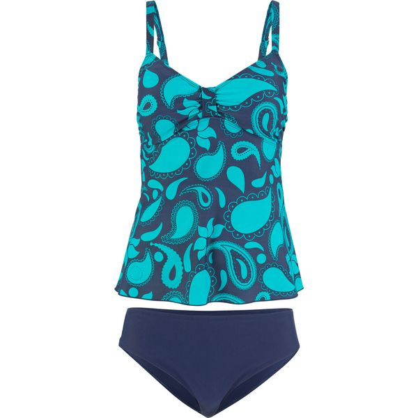 403e2a3766c111 Tankini (2 części) bonprix niebiesko-turkusowy - Bikini marki ...
