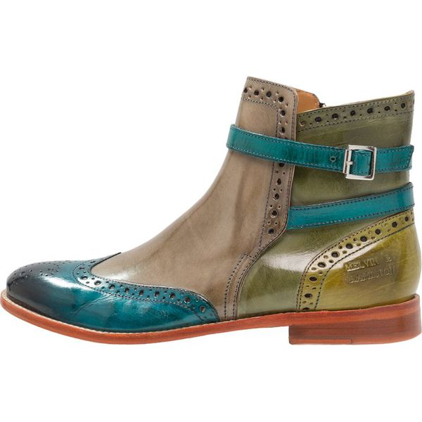 9451a2ecb5ef5 Melvin   Hamilton AMELIE Ankle boot ice blue mint green - Niebieskie ...