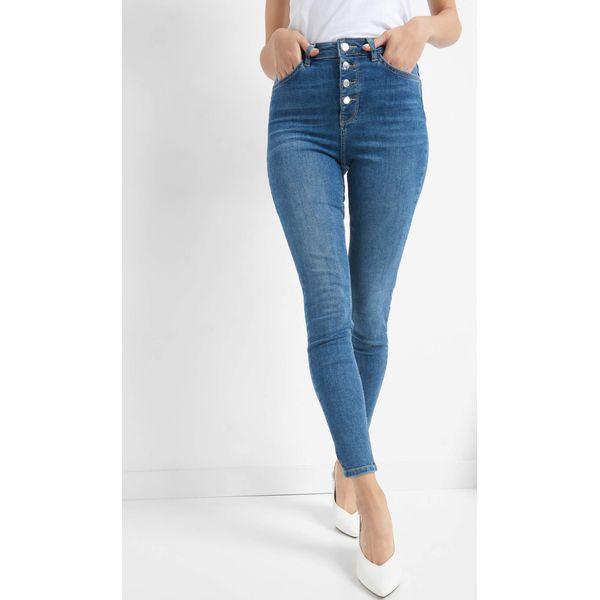 e9b8dd3342e319 Jeansy skinny z wysokim stanem - Niebieskie jeansy damskie Orsay, z  bawełny. Za 119.99 zł. - Jeansy damskie - Spodnie damskie - Odzież damska -  Butik ...
