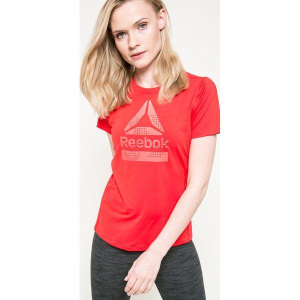 834581c0f71bbb Reebok - Top - T-shirty damskie Reebok. W wyprzedaży za 99.90 zł ...