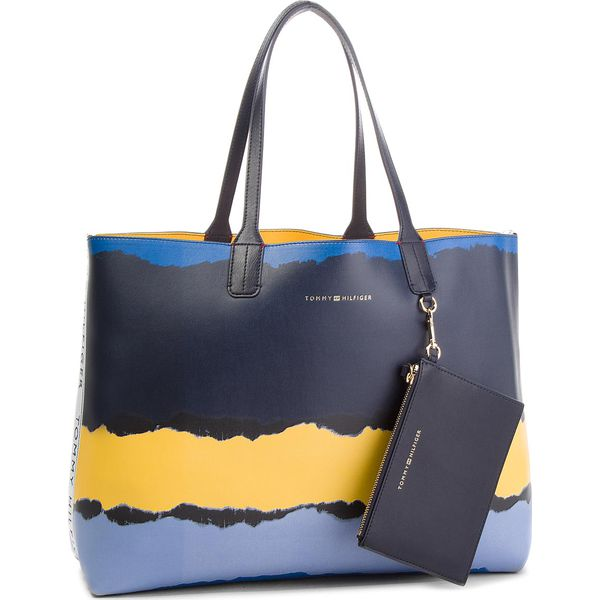8a4165409d333 Torebka TOMMY HILFIGER - Iconic Tommy Tote Pr AW0AW05593 902 ...
