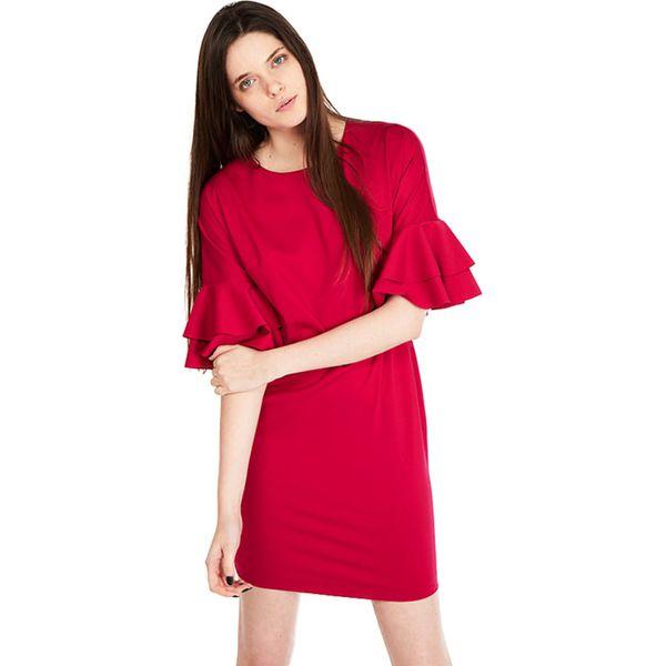 754bcb71bd Sukienka w kolorze fuksji - Czerwone sukienki damskie marki MARGO ...