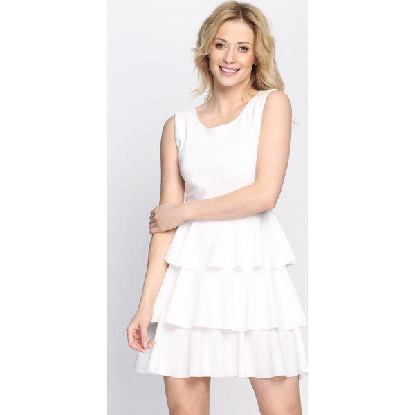 ca1761a6e8 Biała Sukienka The Girls - Białe sukienki damskie marki Born2be ...