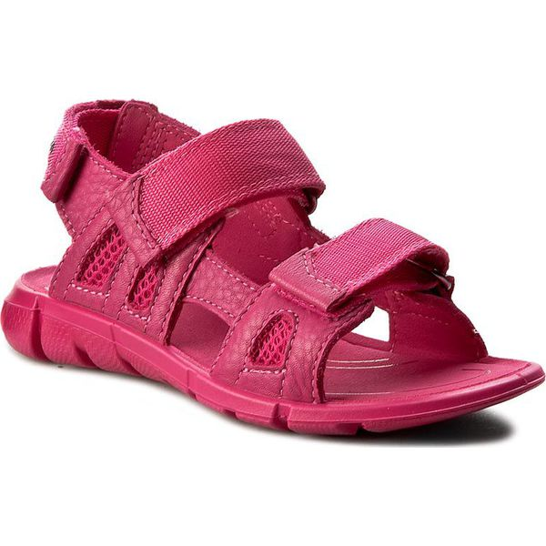 ad22a5b8 Sandały ECCO - Intrinsic Sandal 70555250229 Beetroot/Beetroot ...