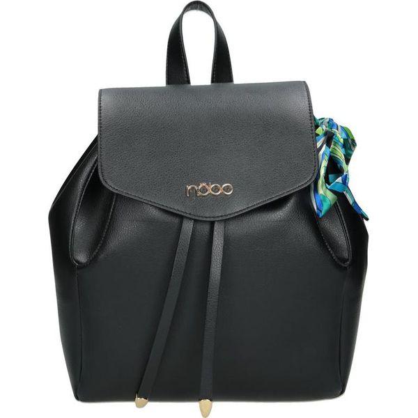 603f1bfcc8d1d Nobo Plecak damski FE1620-C020 czarny - Czarne plecaki marki Nobo ...