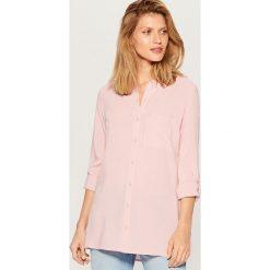 b9d26e864f545d Koszula z podwijanymi rękawami - Różowy. Koszule damskie Mohito. W  wyprzedaży za 29.99 zł