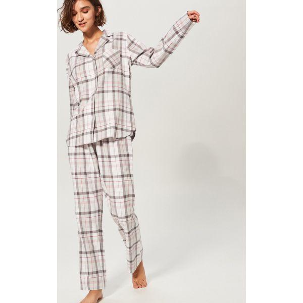 211b78248d4a2e Dwuczęściowa piżama - Jasny szar - Szare piżamy damskie Reserved. Za ...