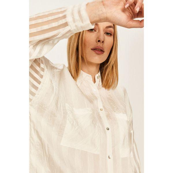 Answear Koszula Białe koszule damskie ANSWEAR, l, bez  NW7Nr