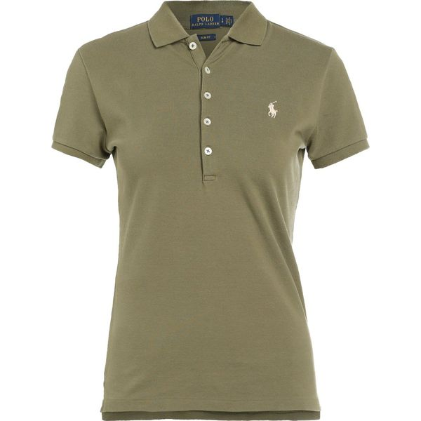 23f796e90d2d Polo Ralph Lauren JULIE POLO Koszulka polo basic olive - Zielone bluzki  damskie Polo Ralph Lauren