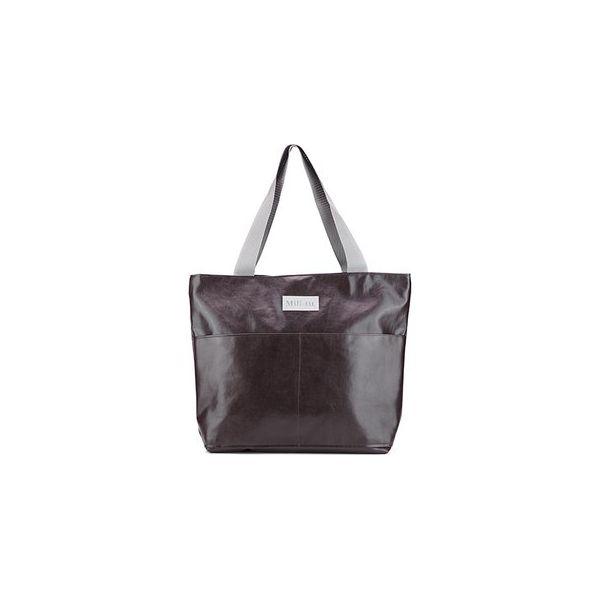 648a0051d557c Torba typu shopper Mili City Bag - brązowa - Brązowe shopper bag ...
