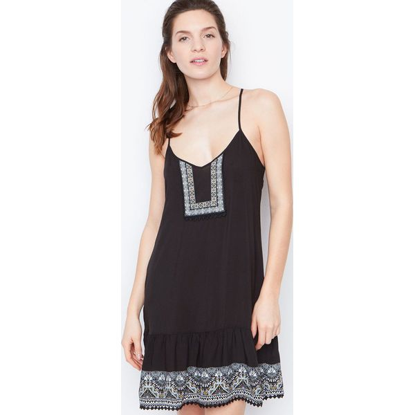 ab141f273feb6e Etam - Koszula nocna - Szare piżamy damskie marki Etam, z materiału ...