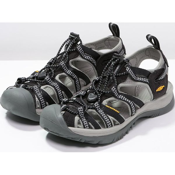 low priced f55a8 cfc78 Keen WHISPER Sandały trekkingowe black/neutral gray