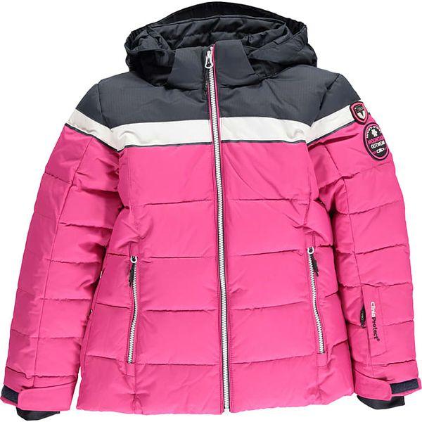159f94a025131 Kurtka narciarska w kolorze granatowo-różowym - Czerwone kurtki ...