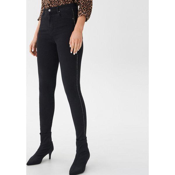 6f27039148 Jeansy high waist skinny - Czarny - Czarne rurki damskie marki House ...