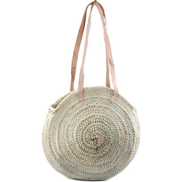 f91bb3f08ea6e Torebka w kolorze beżowym - (S)45 x (W)35 x (G)12 cm - Brązowe torebki  klasyczne damskie marki Letnie dodatki, z materiału. W wyprzedaży za 139.95  zł.