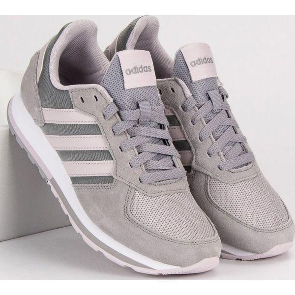 f5e8273026 Adidas Buty damskie 8K szare r. 37 1 3 (B43793) - Szare obuwie ...
