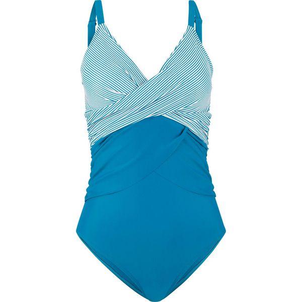 0b4a8b760d73 Kostium kąpielowy bonprix niebieskozielony - Stroje jednoczęściowe ...