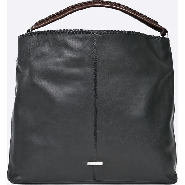 50cd22ec49cbd Ochnik - Torebka skórzana - Czarne torebki klasyczne damskie marki Ochnik