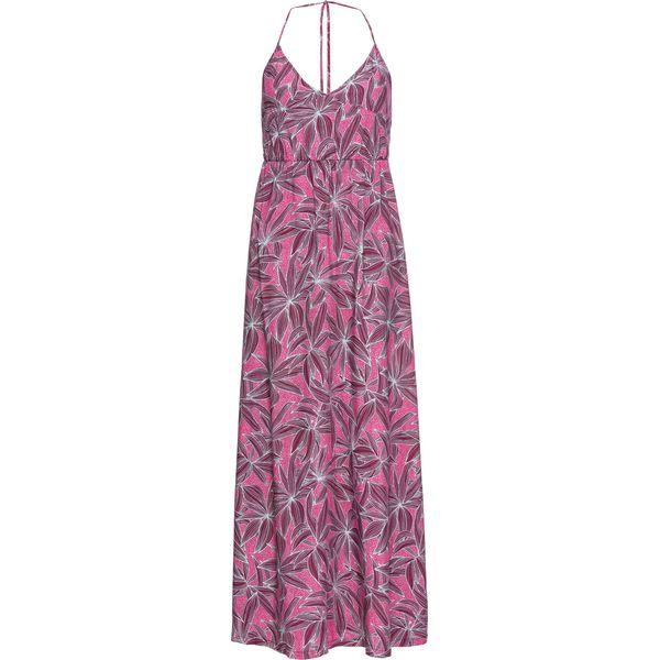 3be47031a3 Długa sukienka w kwiaty bonprix różowy w kwiaty - Czerwone sukienki ...