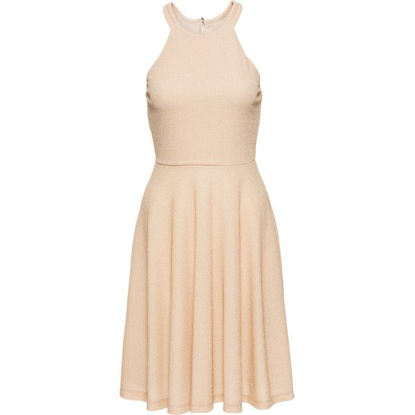 5adda613e7 Sukienka brokatowa bonprix kolor czerwonego złota - Sukienki damskie ...