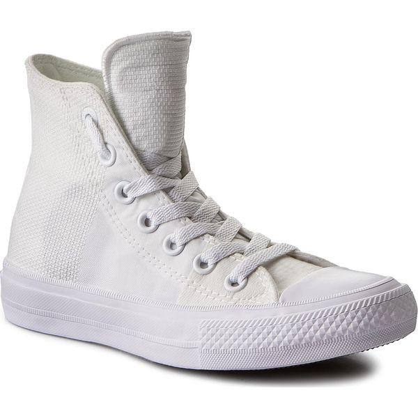 44c4341d86ccb Trampki CONVERSE - Ctas II Hi 155418C White/White/White - Trampki damskie  marki Converse. W wyprzedaży za 219.00 zł. - Trampki damskie - Obuwie  sportowe ...