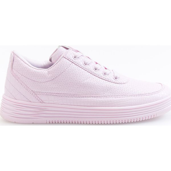 d08c465d Sportowe buty - Fioletowy - Fioletowe obuwie sportowe casual damskie ...