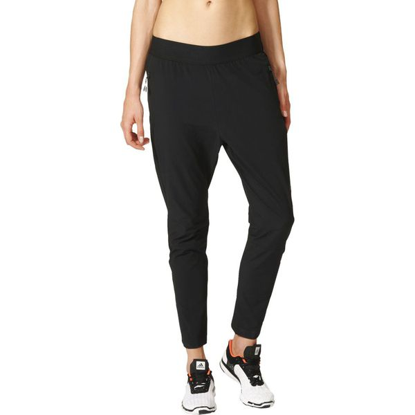 czarne spodnie adidas damskie