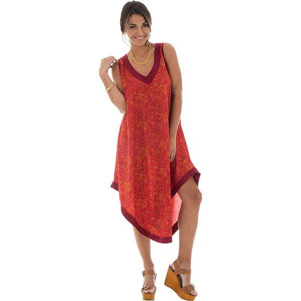 df0d99b270d6c5 Sukienka w kolorze czerwonym - Czerwone sukienki damskie Aller ...