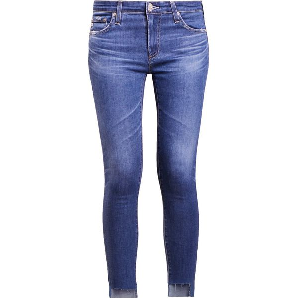 9d7edc46037 AG Jeans Jeansy Slim Fit blue - Jeansy damskie marki AG Jeans. W ...