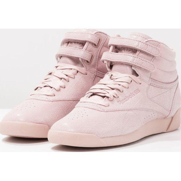 6c9378fa Reebok Classic FREESTYLE Tenisówki i Trampki wysokie shell pink ...