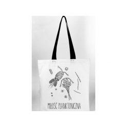 88e4e05d3fd79 Oczliki - torba z grubego płótna bawełnianego. Torebki klasyczne damskie  marki Waldziograf. Za 69.00