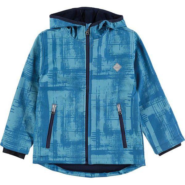 24eadda9951c7 Kurtka softshellowa w kolorze niebieskim - Kurtki dziewczęce marki ...