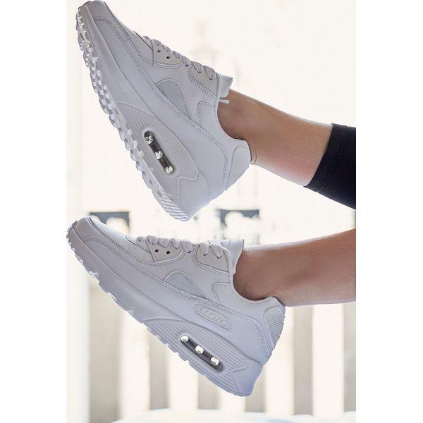 1d5c5c324f532 Białe Buty Sportowe Classic Nilda - Białe obuwie sportowe treningowe ...